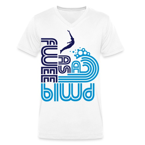 Free as a Bird - Men's Organic V-Neck T-Shirt by Stanley & Stella