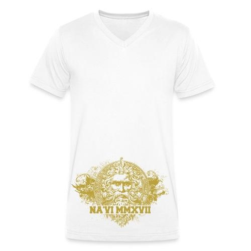 Face of god - Ekologisk T-shirt med V-ringning herr från Stanley & Stella
