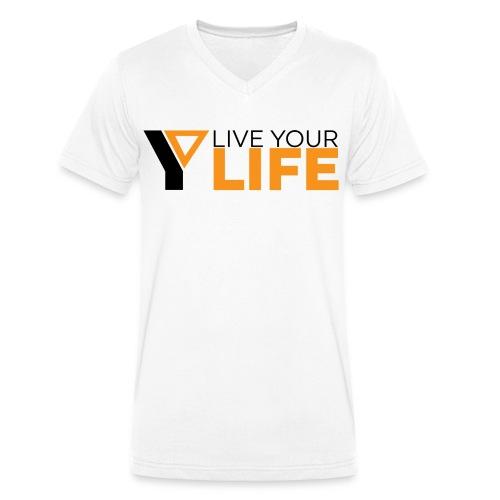 Original LiveYourLife - Männer Bio-T-Shirt mit V-Ausschnitt von Stanley & Stella