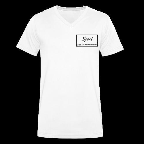 Schtephinie Evardson Sporting Wear - Men's Organic V-Neck T-Shirt by Stanley & Stella