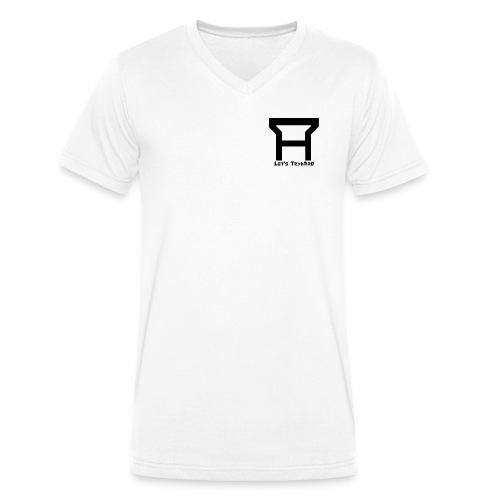 TryHard Logo - Männer Bio-T-Shirt mit V-Ausschnitt von Stanley & Stella