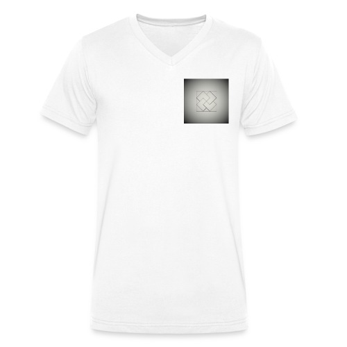 OPHLO LOGO - Men's Organic V-Neck T-Shirt by Stanley & Stella
