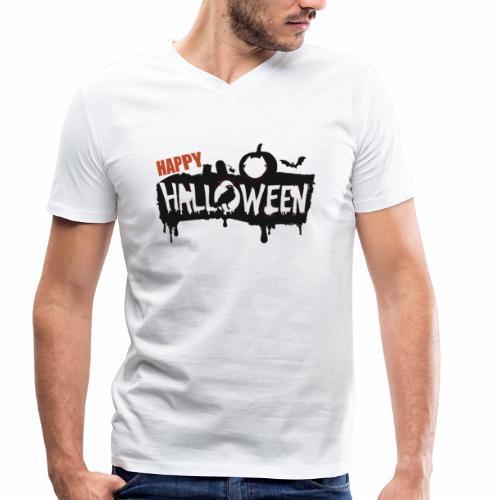 Happy Halloween - T-shirt bio col V Stanley & Stella Homme