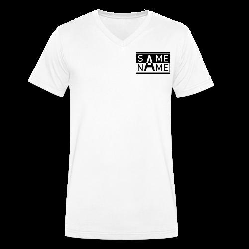 Same Name Same Design - Männer Bio-T-Shirt mit V-Ausschnitt von Stanley & Stella