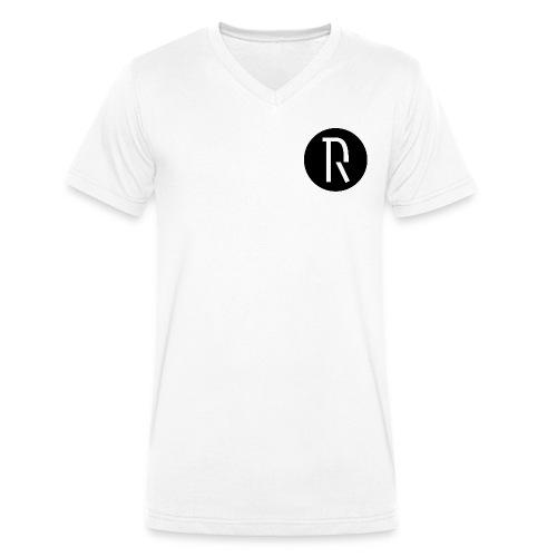 DR - Mannen bio T-shirt met V-hals van Stanley & Stella