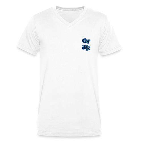 ReqSky - Mannen bio T-shirt met V-hals van Stanley & Stella