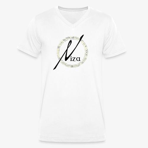 Niza Logo Camouflage - Männer Bio-T-Shirt mit V-Ausschnitt von Stanley & Stella