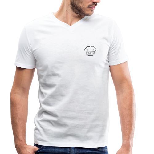 Prime_Design_Logo - Männer Bio-T-Shirt mit V-Ausschnitt von Stanley & Stella