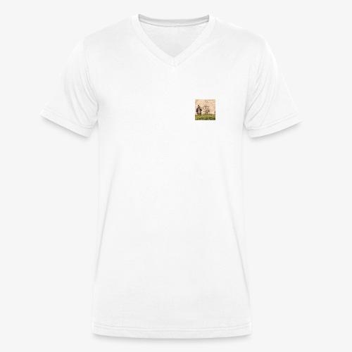 FLO - Moi, je dis - T-shirt bio col V Stanley & Stella Homme