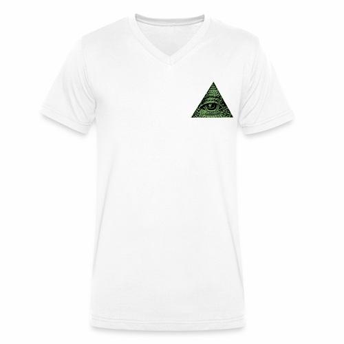 Illuminati - T-shirt bio col V Stanley & Stella Homme