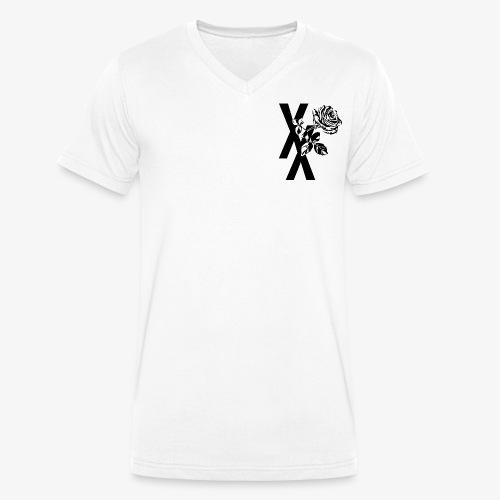EST19XX ROSE - Mannen bio T-shirt met V-hals van Stanley & Stella
