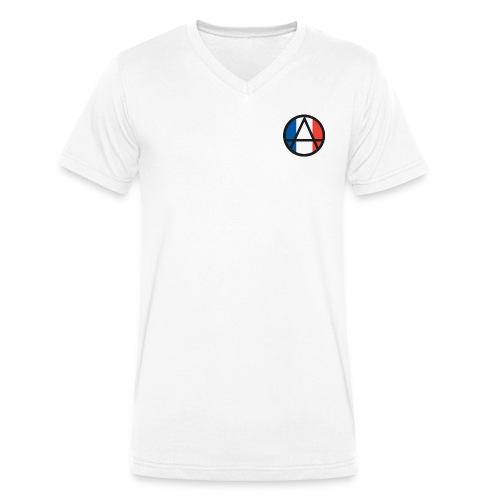 Logo ZELA France - T-shirt bio col V Stanley & Stella Homme