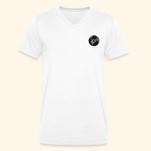 YesterdayNowForever-Logo - Männer Bio-T-Shirt mit V-Ausschnitt von Stanley & Stella