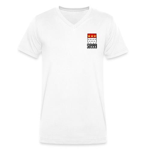 50999 über der Brust - Männer Bio-T-Shirt mit V-Ausschnitt von Stanley & Stella
