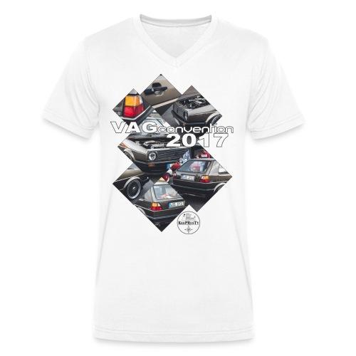VAG Convention 2017 - Männer Bio-T-Shirt mit V-Ausschnitt von Stanley & Stella