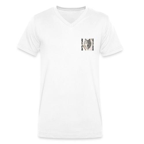 loup - T-shirt bio col V Stanley & Stella Homme