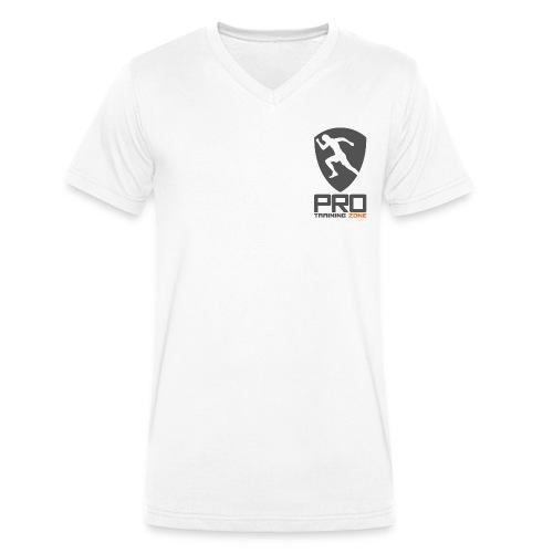 ProTrainingZone - Männer Bio-T-Shirt mit V-Ausschnitt von Stanley & Stella