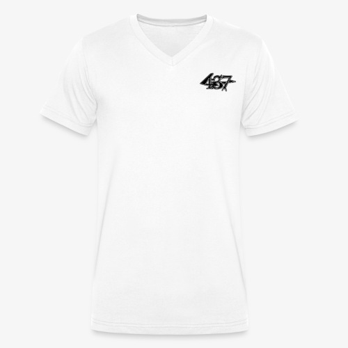 437 - Männer Bio-T-Shirt mit V-Ausschnitt von Stanley & Stella