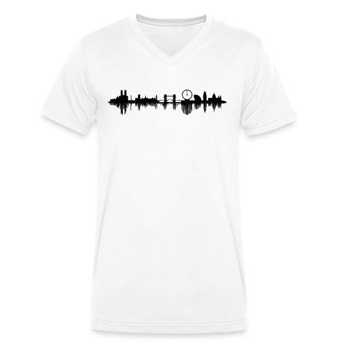 The Sound Of London - Männer Bio-T-Shirt mit V-Ausschnitt von Stanley & Stella