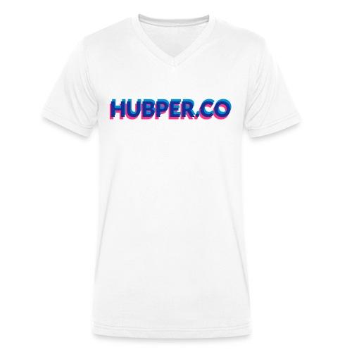 Hubper.co overprinted - Mannen bio T-shirt met V-hals van Stanley & Stella