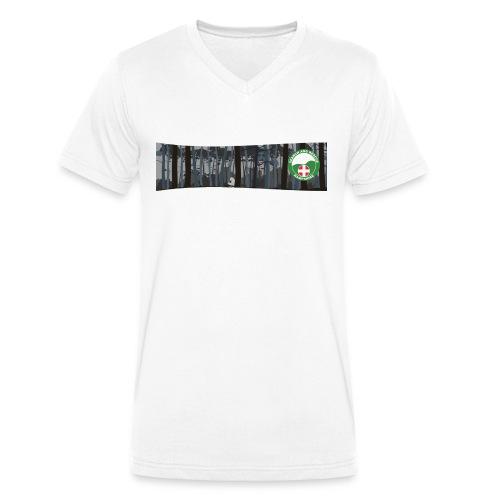 HANTSAR Forest - Men's Organic V-Neck T-Shirt by Stanley & Stella