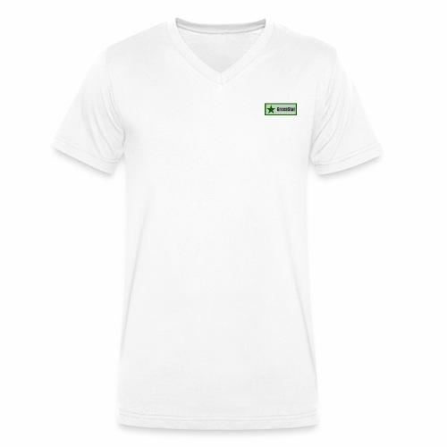 GreenStar - Men's Organic V-Neck T-Shirt by Stanley & Stella