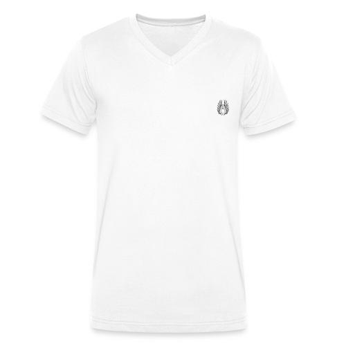 aile dange ouvert - T-shirt bio col V Stanley & Stella Homme
