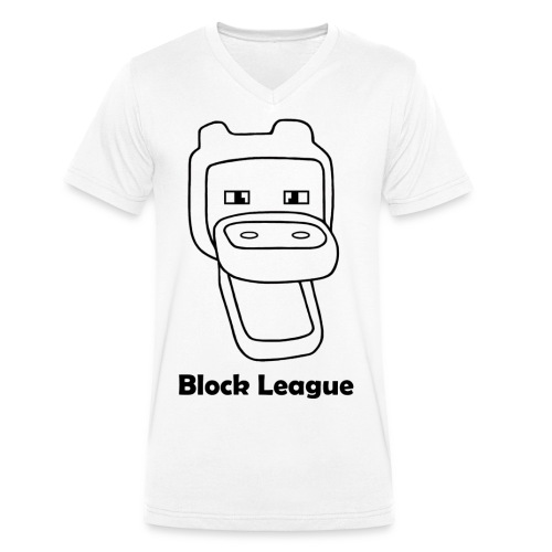 Block League official - Mannen bio T-shirt met V-hals van Stanley & Stella