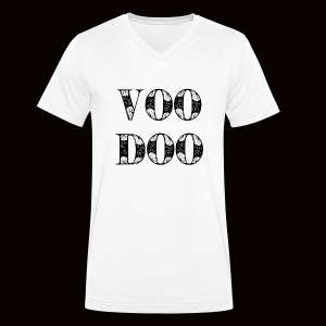 VoodooBrand T-Shirt - Men's Organic V-Neck T-Shirt by Stanley & Stella