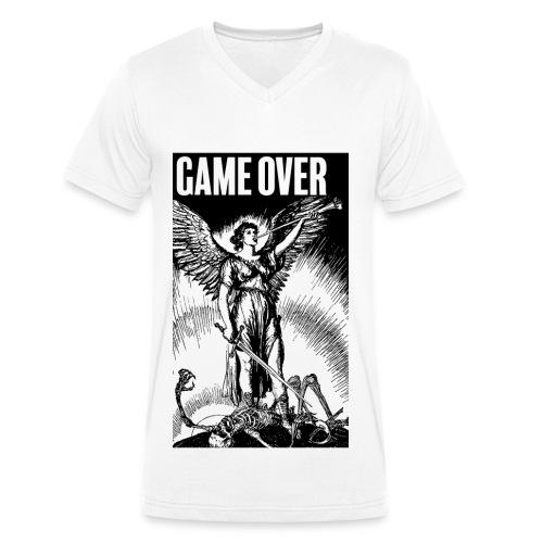 Game Over - T-shirt bio col V Stanley & Stella Homme