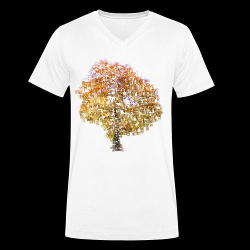 Tree Of Life - Männer Bio-T-Shirt mit V-Ausschnitt von Stanley & Stella