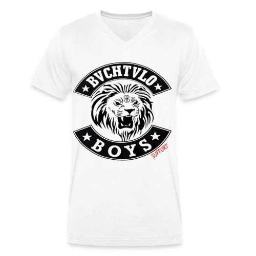 BVCHTVLO BOYS SUPPORT - Männer Bio-T-Shirt mit V-Ausschnitt von Stanley & Stella
