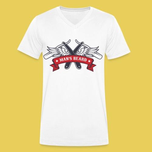 Angel Man's Beard - T-shirt bio col V Stanley & Stella Homme