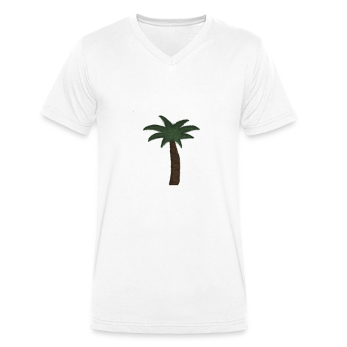 PALMTREE - Tshirt - Økologisk T-skjorte med V-hals for menn fra Stanley & Stella