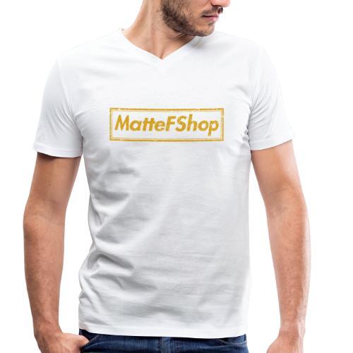 Gold Collection! (MatteFShop Original) - T-shirt ecologica da uomo con scollo a V di Stanley & Stella