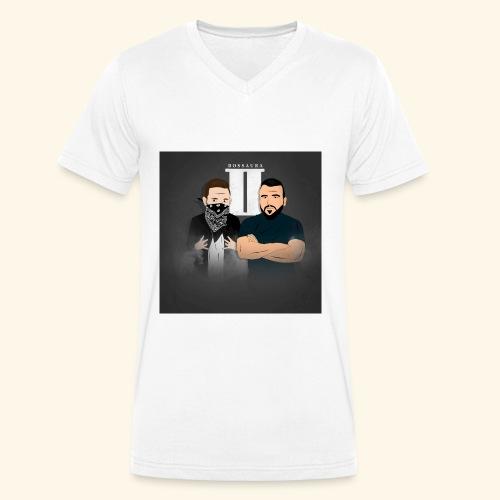 Bossaura 2 Cartoon - Männer Bio-T-Shirt mit V-Ausschnitt von Stanley & Stella