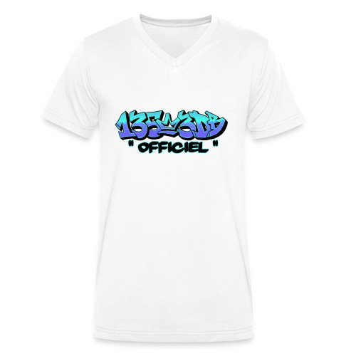 Graff 135.3db Officiel - T-shirt bio col V Stanley & Stella Homme