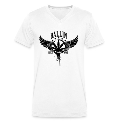 Ballin - Männer Bio-T-Shirt mit V-Ausschnitt von Stanley & Stella