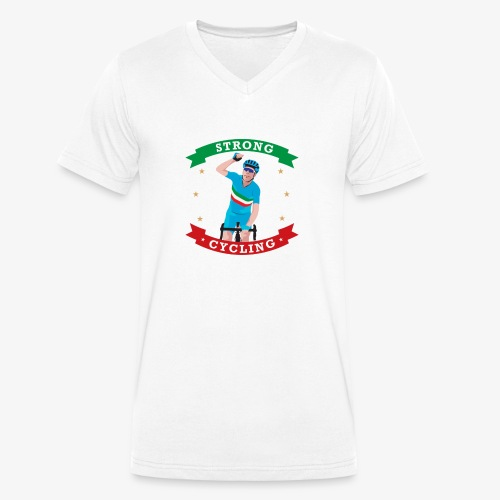 IMG 2974 - T-shirt ecologica da uomo con scollo a V di Stanley & Stella