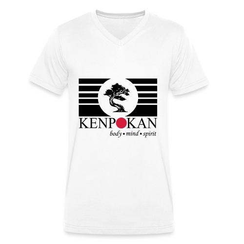 Kenpokan Hannover - Männer Bio-T-Shirt mit V-Ausschnitt von Stanley & Stella