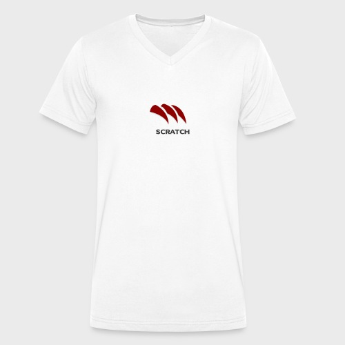 SCRATCH - T-shirt ecologica da uomo con scollo a V di Stanley & Stella