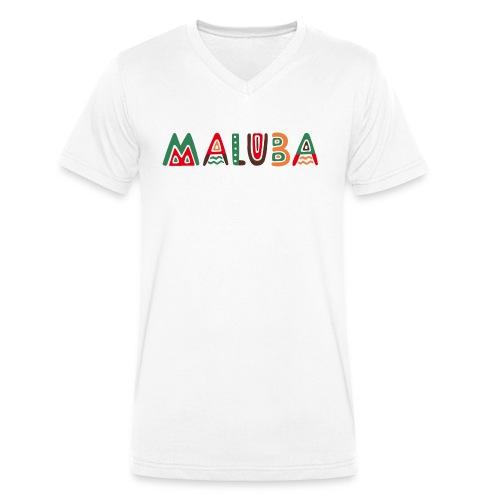 maluba - Männer Bio-T-Shirt mit V-Ausschnitt von Stanley & Stella