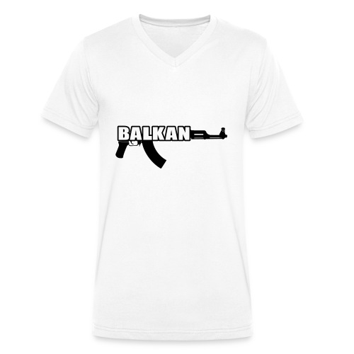 BALKAN - Men's Organic V-Neck T-Shirt by Stanley & Stella