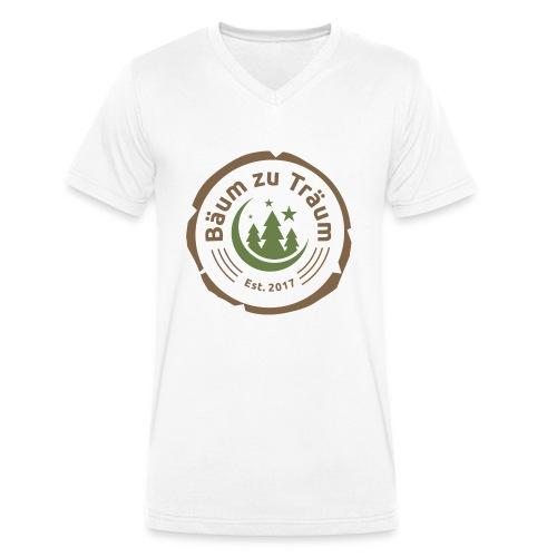 Bäum zu Träum - Männer Bio-T-Shirt mit V-Ausschnitt von Stanley & Stella