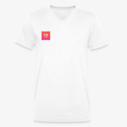logo radiofm93 - Mannen bio T-shirt met V-hals van Stanley & Stella