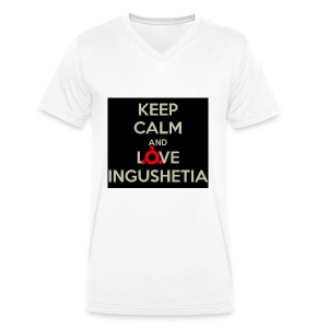 keep calm and love ingushetia - T-shirt bio col V Stanley & Stella Homme
