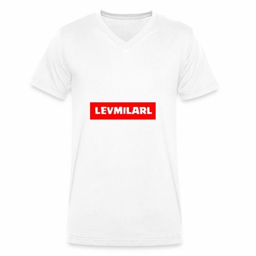 design 1 - Männer Bio-T-Shirt mit V-Ausschnitt von Stanley & Stella
