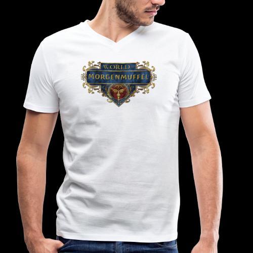 Die Morgenmuffel - Männer Bio-T-Shirt mit V-Ausschnitt von Stanley & Stella