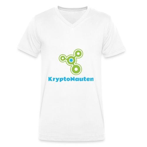 Kryptonauten - Männer Bio-T-Shirt mit V-Ausschnitt von Stanley & Stella