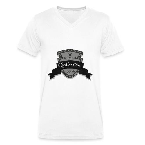 100% Premium Collection Brand - Men's Organic V-Neck T-Shirt by Stanley & Stella